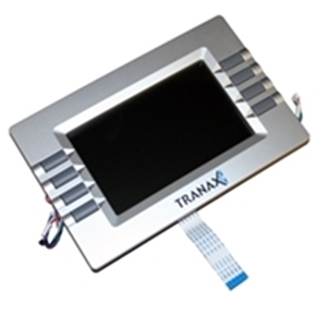 LCD assembly for Hantle ATM models. This includes the LCD panel, LCD bezel, clear plastic, function key boards and cables, and the LCD flat white cable.