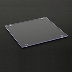 ATM clear plastic LCD window screen protector