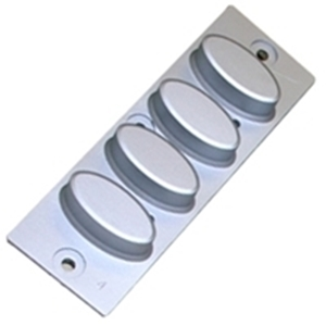 Nautilus Hyosung ATM rubber key cap, can be used for either the left or right function key.