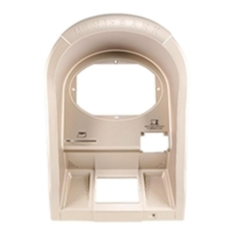 Nautilus Hyosung upper bezel fascia for 1500 ATM models.