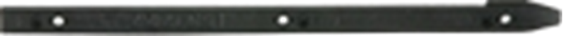 Left cassette insertion rail for 1000 note cash dispenser