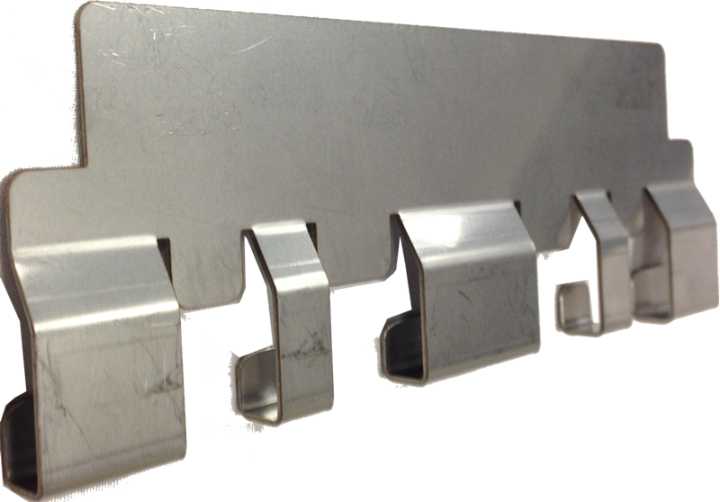 Nautilus Hyosung metal push plate insert for drawer style cash dispensers.