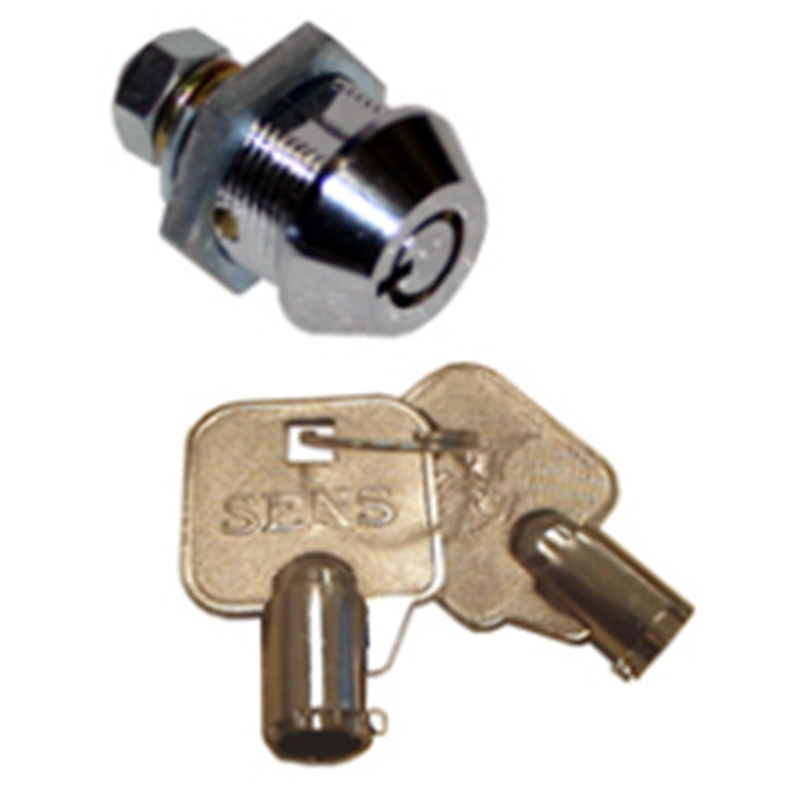 System barrel keylock assembly for Hantle ATM models. This does include the key.