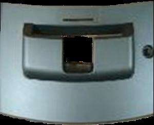 Lower door bezel for 1900 Genmega ATM models.