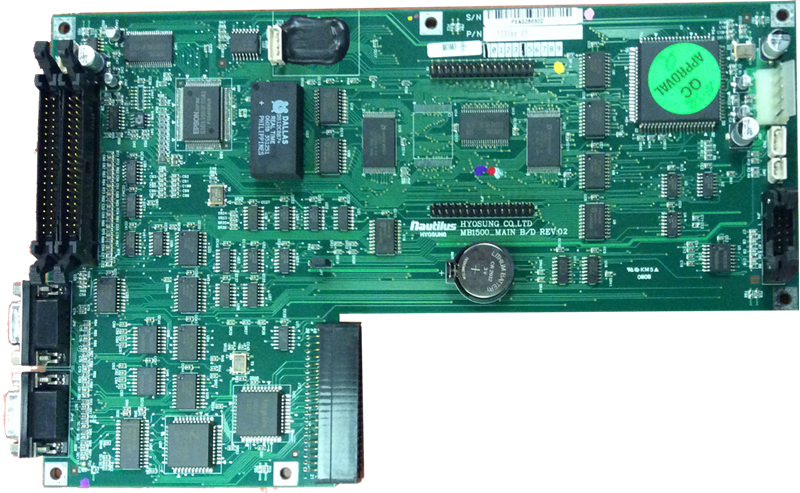 Refurbished Nautilus Hyosung GEN 186 mainboard PCB only. Comes without the modem and casing, in perfect working condition.