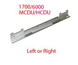 MCDU and HCDU Mounting Rail left or right for Genmega and Hantle ATM models.