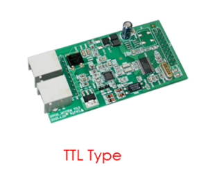 Modem board for MB E4000 and MB 1700 Hantle ATM models.