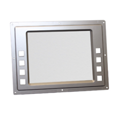 LCD bezel with clear cover for Hantle T4000 ATM model.