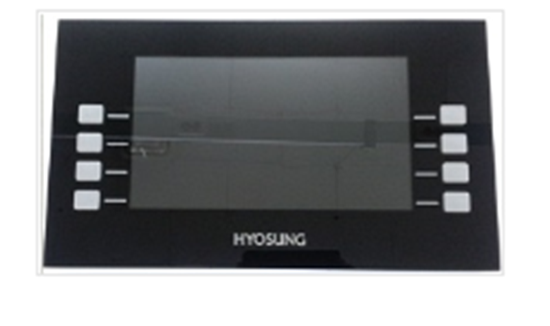 Nautilus Hyosung LCD Assembly, (includes mainboard, LCD and function keys) for Halo and Halo-S.