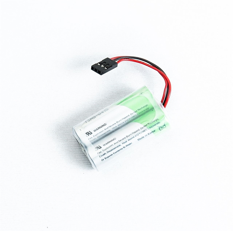 3.6V AA lithium battery pack for Triton ATM models.