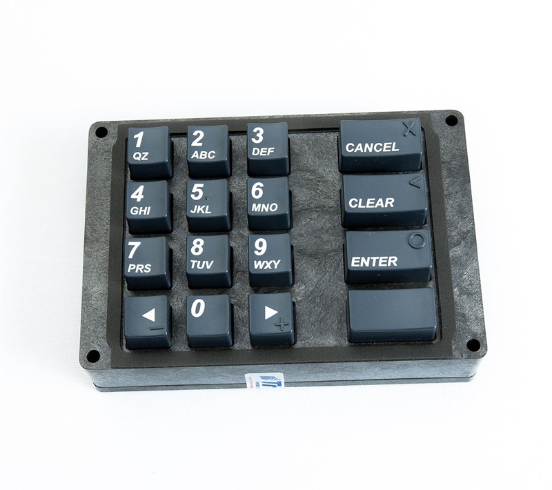 Keypad for Triton 9700 ATM model, T6 PCI EPP.