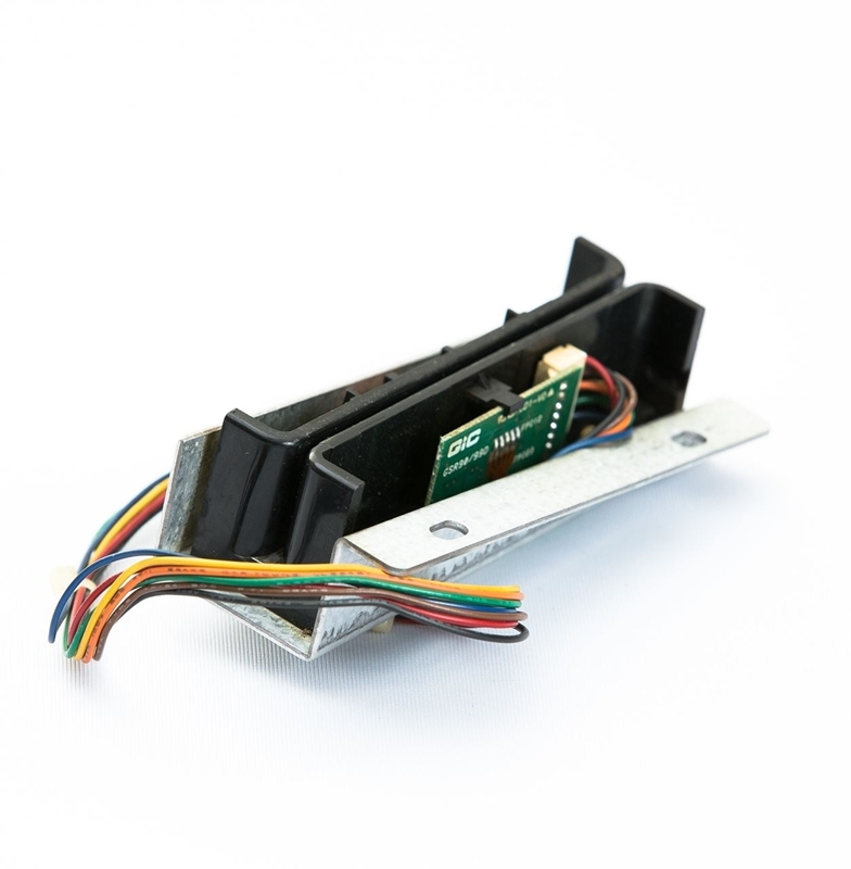 Refurbished magstripe card reader, this is a swipe style magnetic card reader.