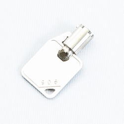 Small barrel TCDU reject key for Genmega and Hantle ATM models.