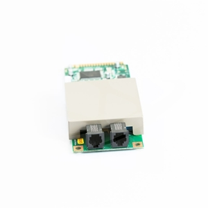 Nautilus Hyosung modem board that attaches to the mainboard for models NH 1800CE, MX 5000CE, and  MX 5300CE ATM's - View 1