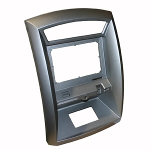 Upper bezel fascia for 17000 and 1700W Hantle ATM models.