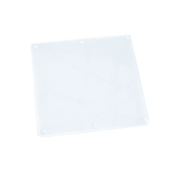 """5.7"""" clear plastic screen protector for Nautilus Hyosung ATM models - View 1"""