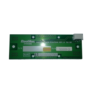 Left function key for Nautilus Hyosung NH 1800 standard control boards.