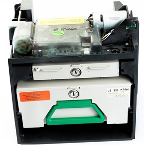 Refurbished TDM100 for Triton 9100 ATM models. Cassette box and reject bin included - View 1