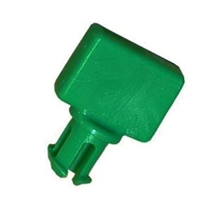 Triton TDM fastener diverter clip. This holds the dispenser gates closed.