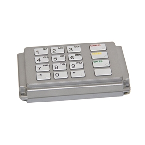 Refurbished Hantle keypad meets all Visa and PCI requirements - View 1