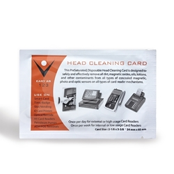 magnetic card reader cleaner