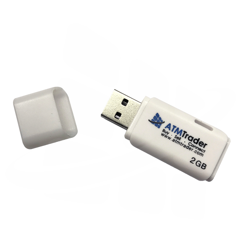 2 GB USB memory stick, used for loading software - View 1