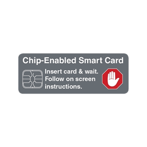 ATM Decal - Chip Enabled Smart Card