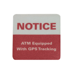 ATM Decal - GPS Tracking