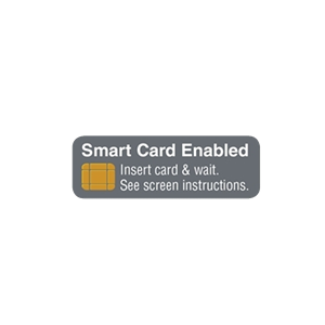 "ATM Decal - Smart Card Enabled EMV 2""x0.75"""
