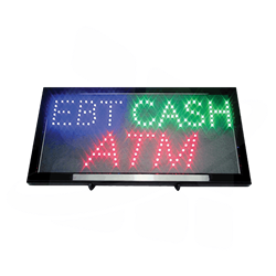 EBT Cash ATM Lighted Sign