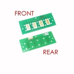 Left or right function key control board for 1700 Hantle ATM models only. This does not include the rubber buttons.