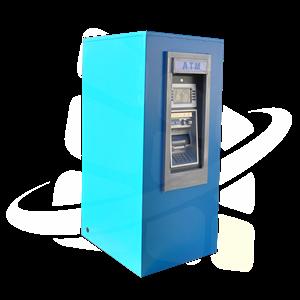 Genmega GT3000 Walk-Up ATM Kiosk Enclosure