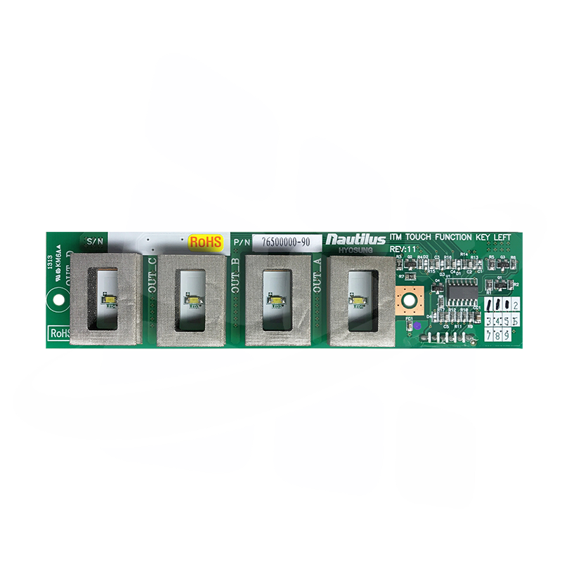 Nautilus Hyosung 2700CE Function Key Control Board - Left (Newer Style)