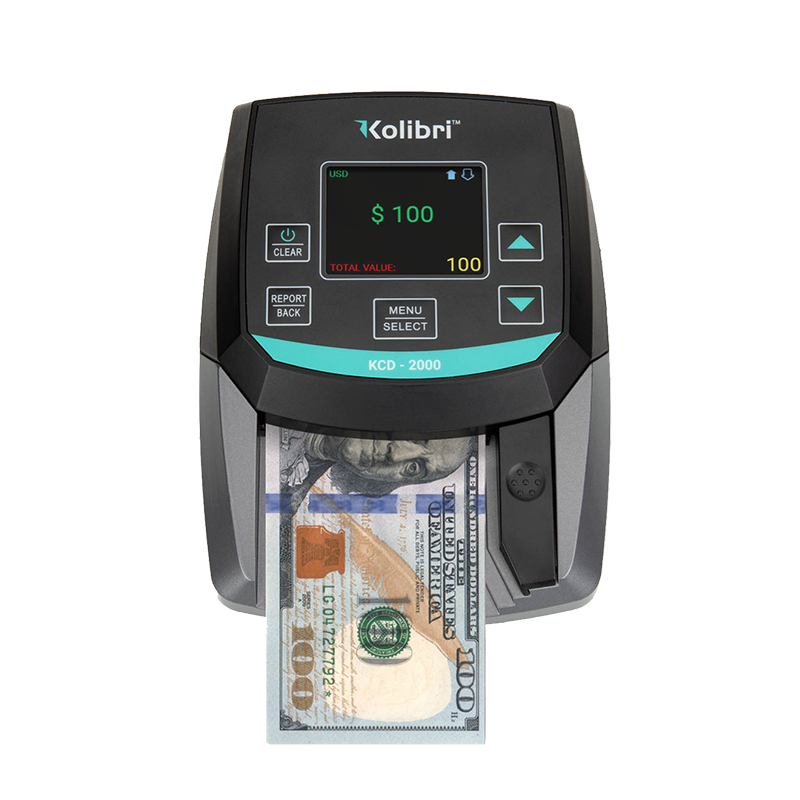Counterfeit Bill Counter & Detector